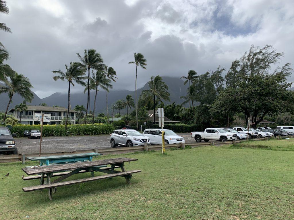 Hanalei_Bay_Parking_Lot