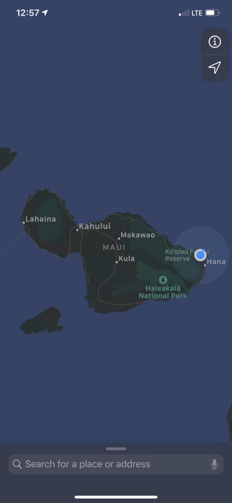 Lahaina Beach Map