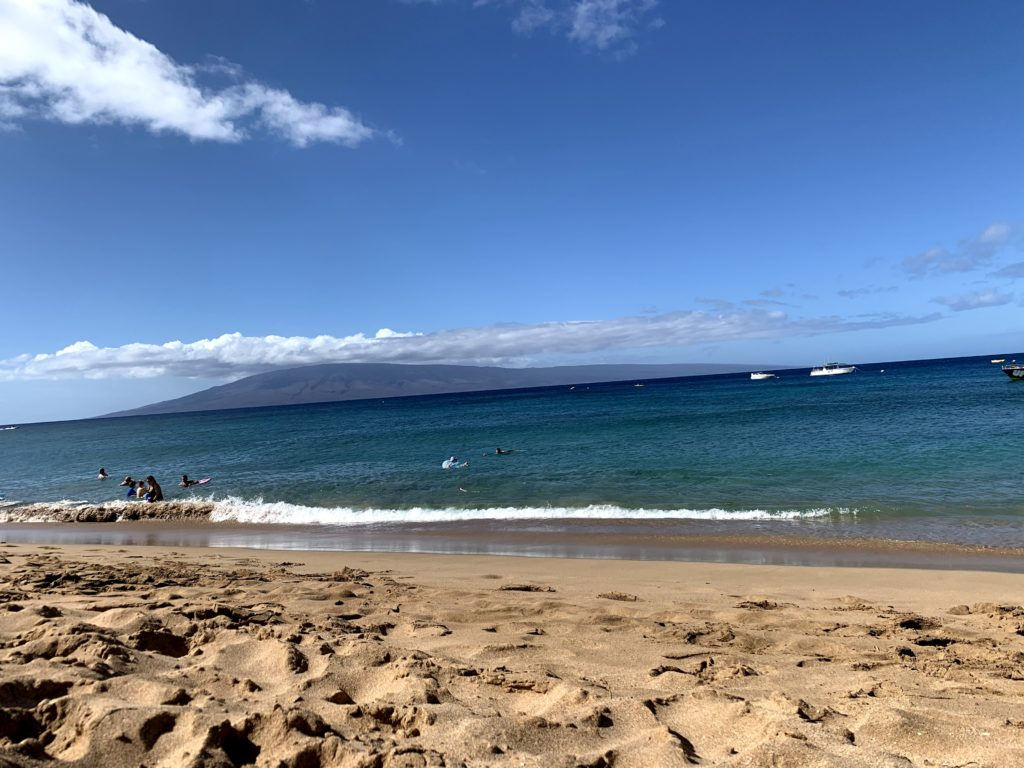 Ka'anapali Beach Lanai View
