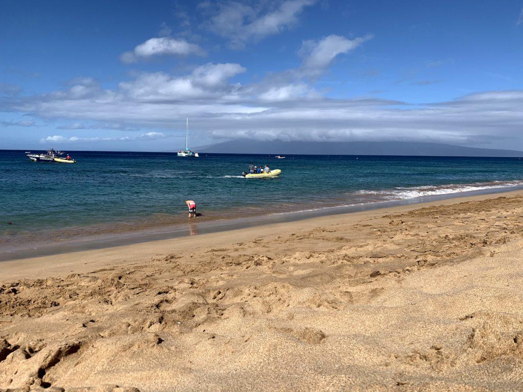 Ka'anapali Beach Molokai View