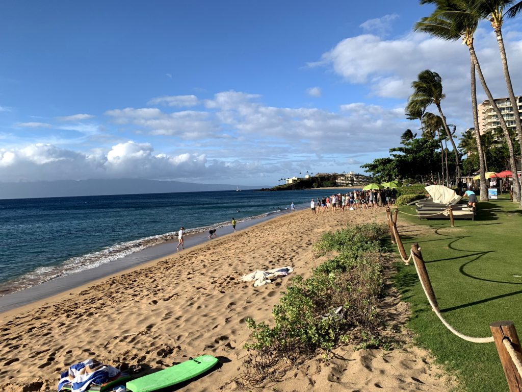 Ka'anapali Beach North View