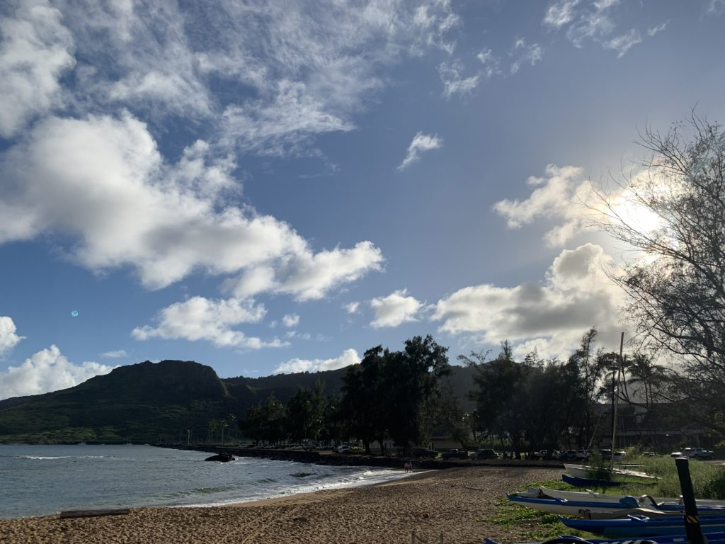 Kalapaki_Beach_West_View