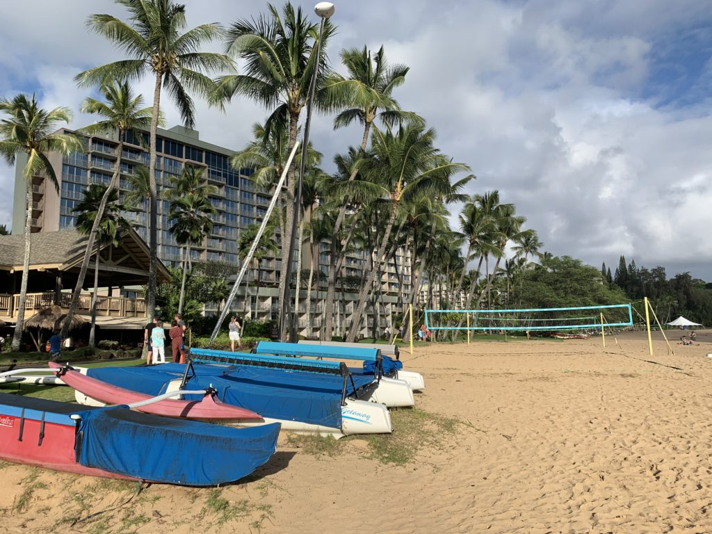 Kalapaki_Beach_in_Front_of_the_Marriott
