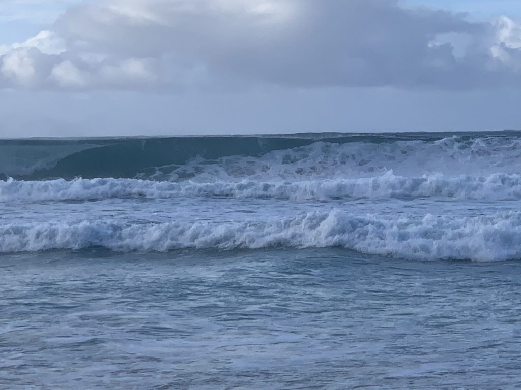 Kalihiwai_Beach_Ocean_Waves
