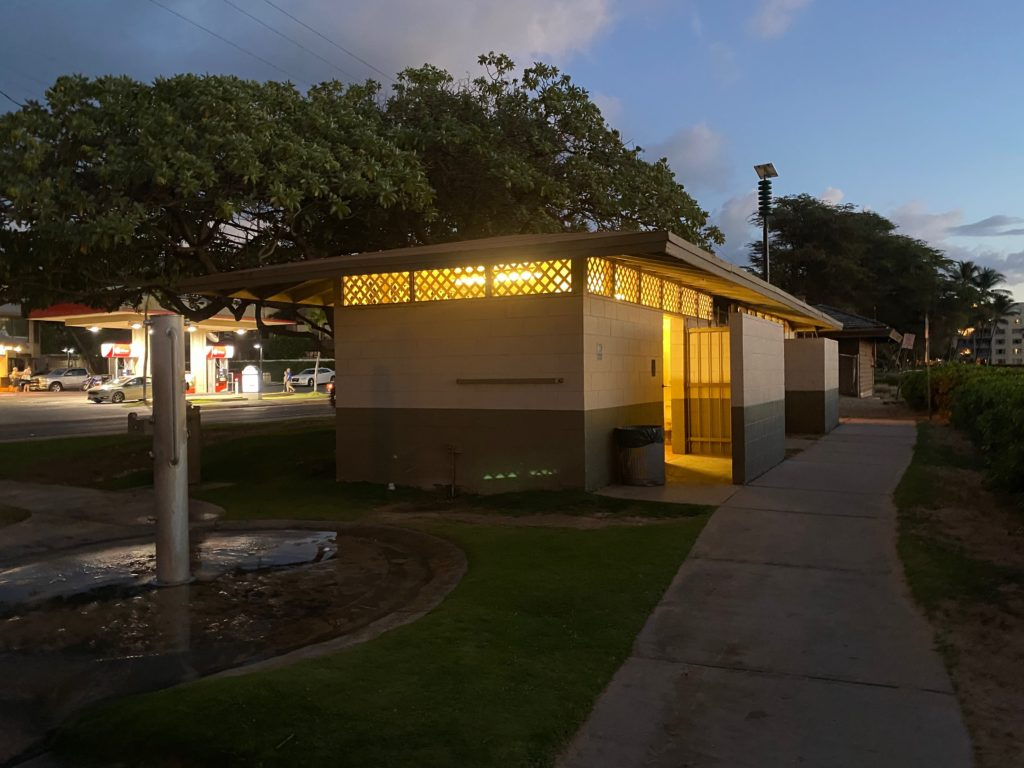 Kamaole I Beach Restrooms and Path