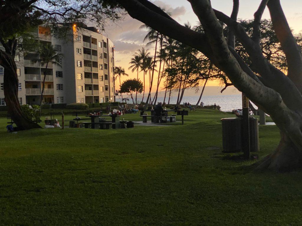 Kamaole I Beach West View