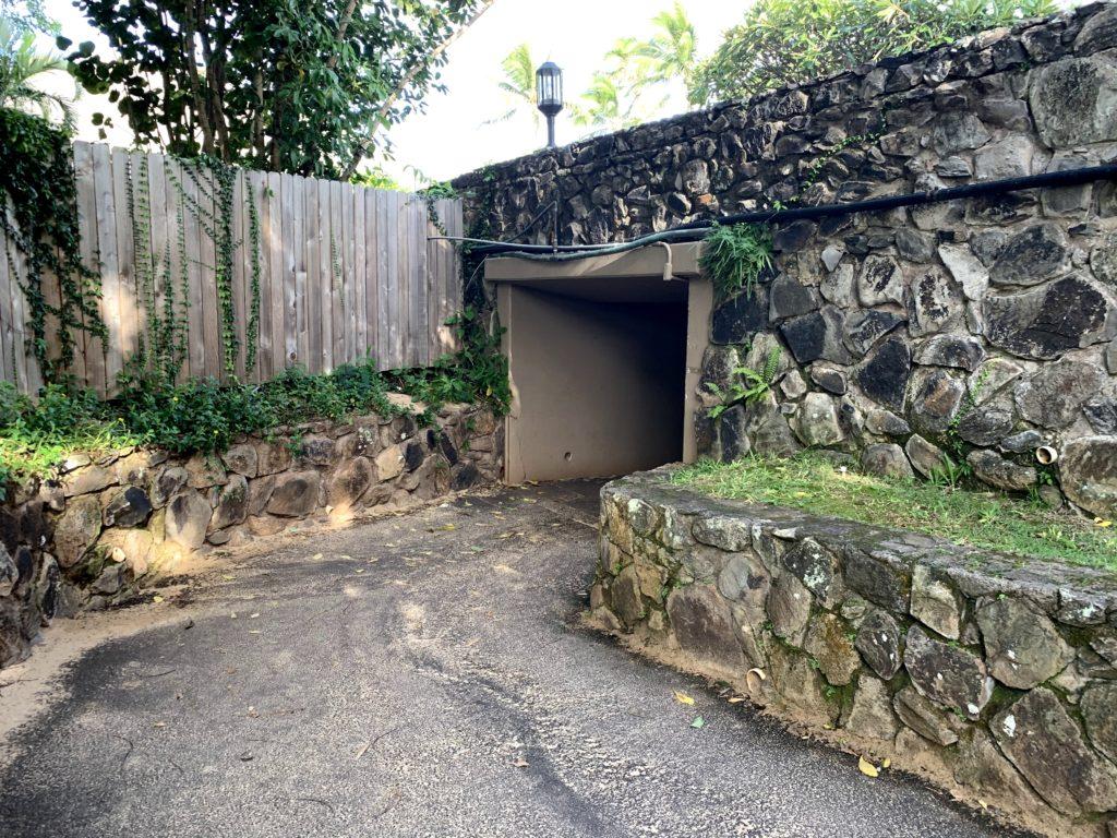 Kapalua Bay Walkway Under Bridge