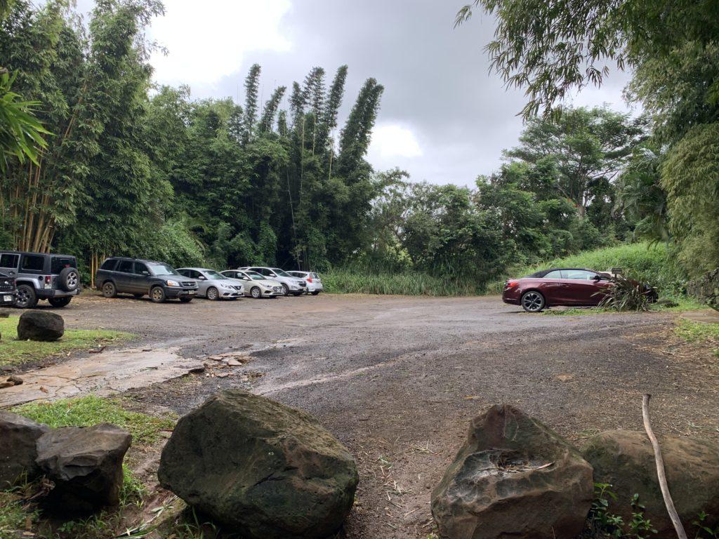 Kauapea_Beach_Parking