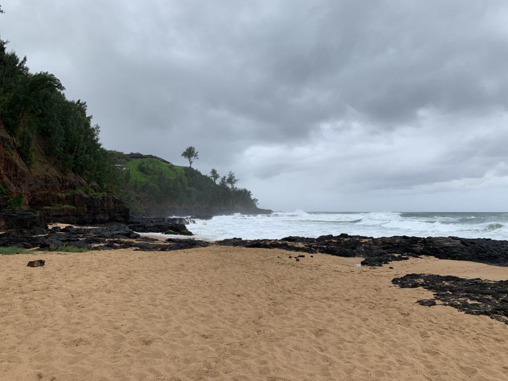 Kauapea_Beach_West_View