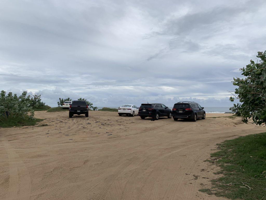 Kekaha_Beach_Park_Parking