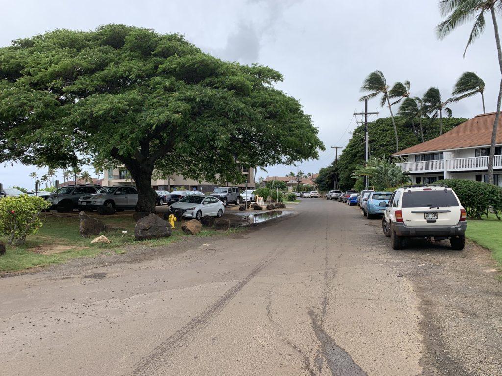 Kiahuna_Beach_Parking_Lot
