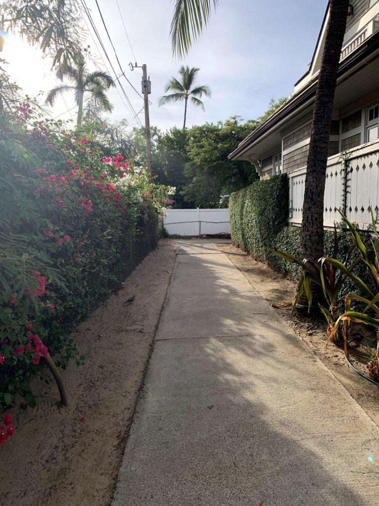Lahaina Baby Beach Access Path