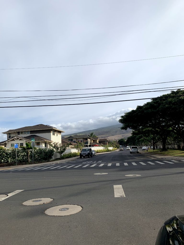 Lahaina Baby Beach Street Parking