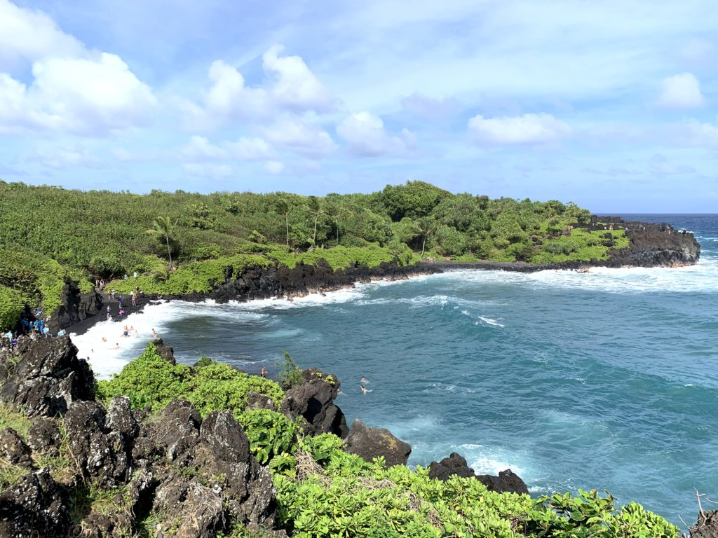 Wai'anapanapa State Park Overview