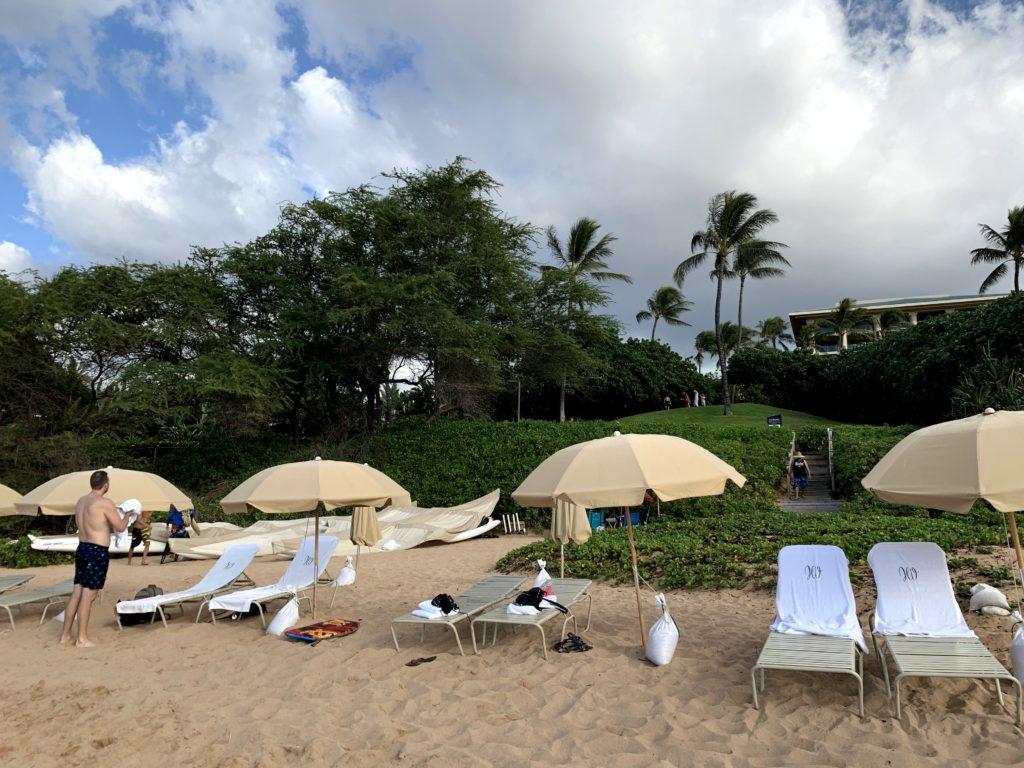 Wailea Beach Four Seasons Beach Chairs