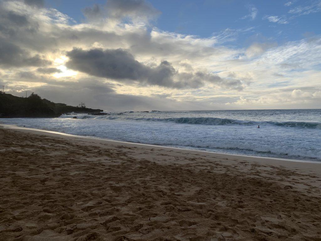 Waimea_Bay_Sunset